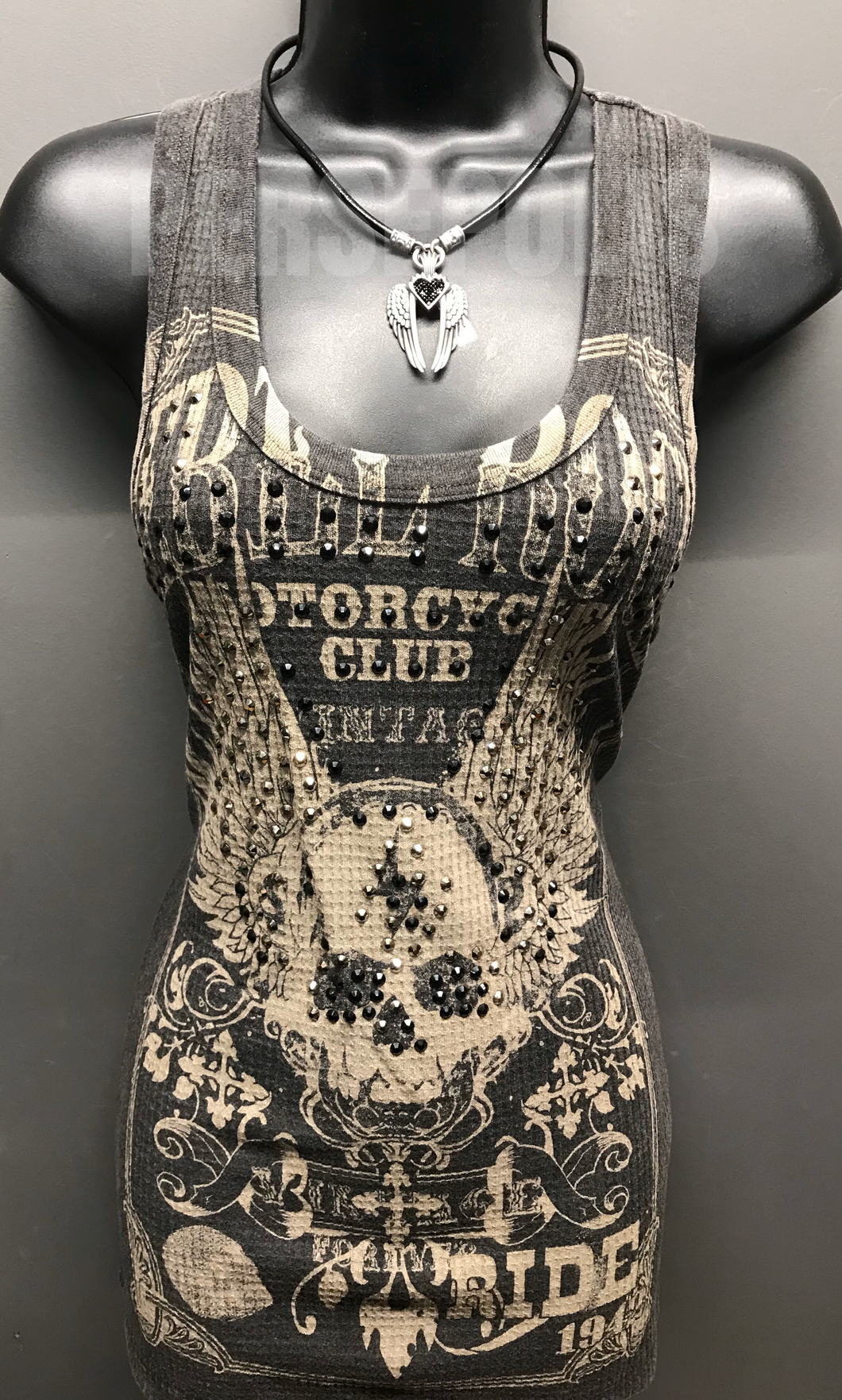 Rebel Rock Bling Tank