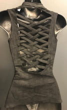 Some Like it Hot faux Suede Zippered Vest- SALE