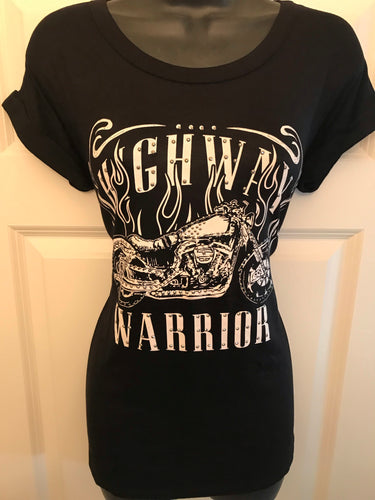 Highway Warrior Tee- SALE