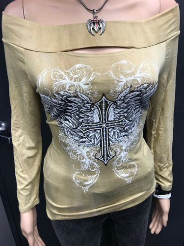 Ride on Angel Sweater- SALE