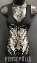 Racy Ripped Angel Tank