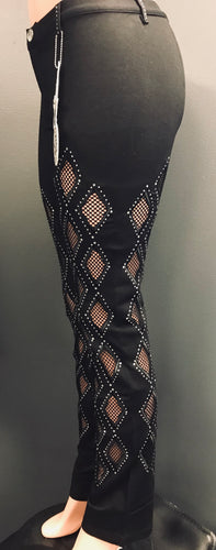 Glitz Cutout Jeggings