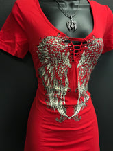Red Hot Wing Ripped Tee