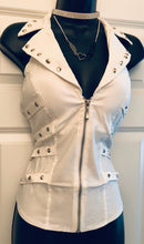 Heaven Sent Zippered Vest