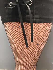 Bombshell Bling Fishnet