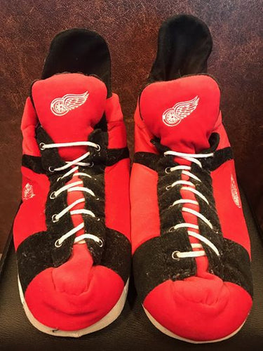 Detroit Red Wing NHL Slippers