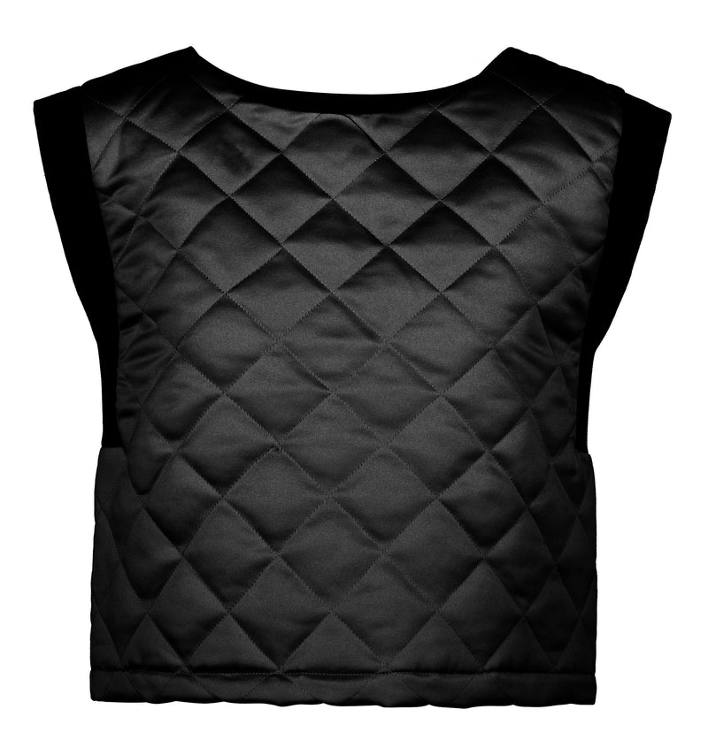 Downtown Top - Quilted Black