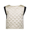 Downtown Top - Quilted beige