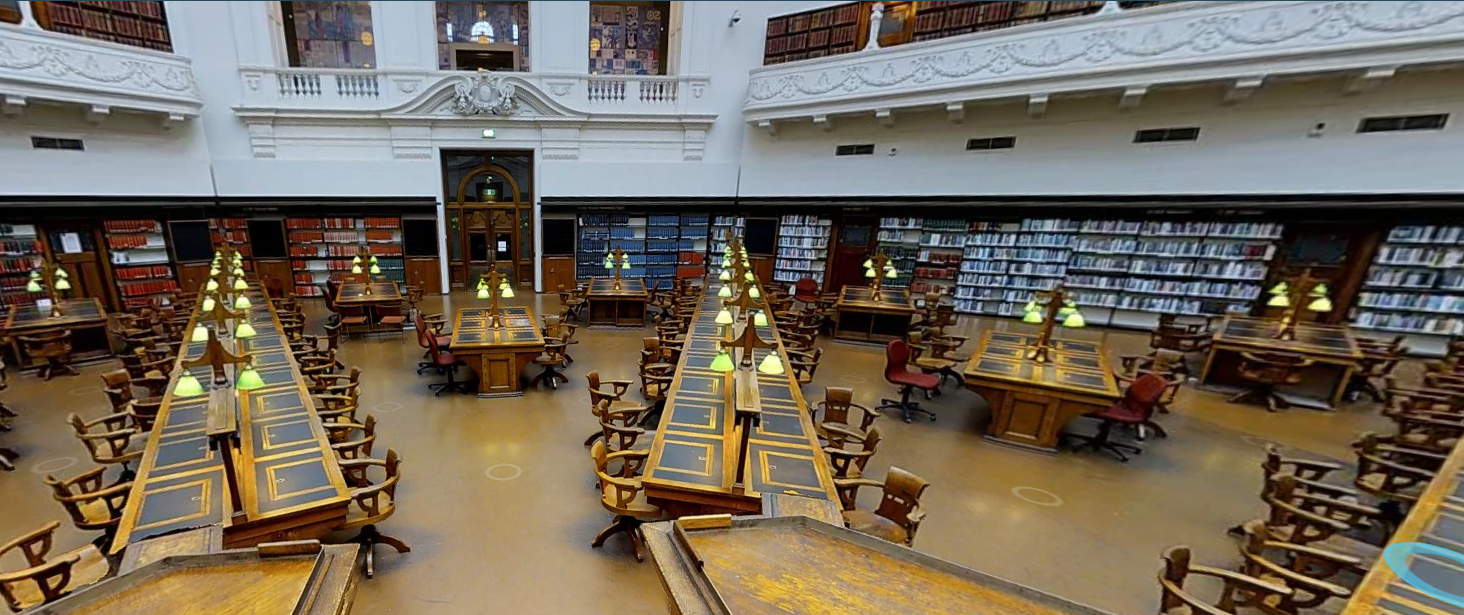 Reading Room at State Library of Victoria