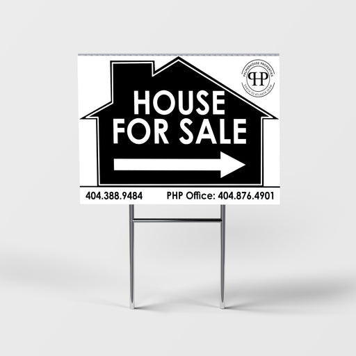 Directional Yard Sign