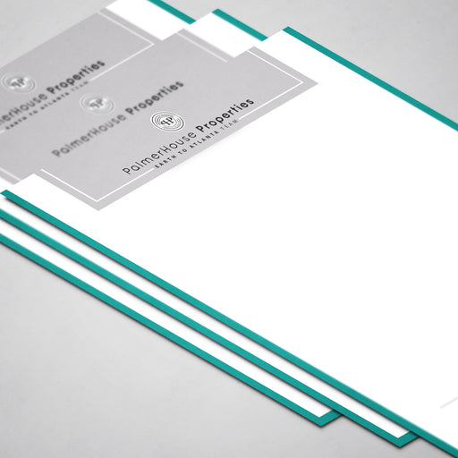 Color Block Letterhead
