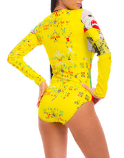 Leotard Yellow Fan - LegCode