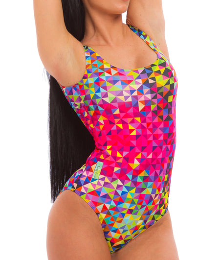 One-Peace SwimSuit Funny Colors - LegCode