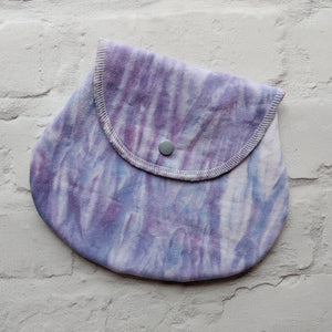 Medium Wet/Dry bag - Hand Dyed Woven Cotton with PUL