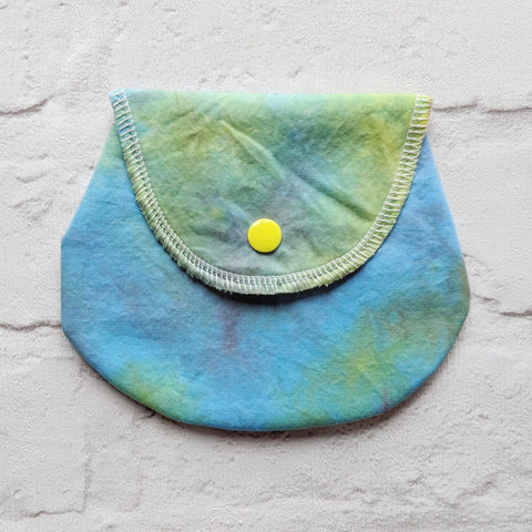 Mini Wetbag - Hand Dyed Woven Cotton with PUL
