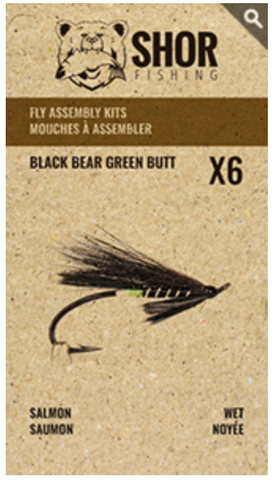 MOUCHE À ASSEMBLER (BLACK BEAR GREEN BUTT)