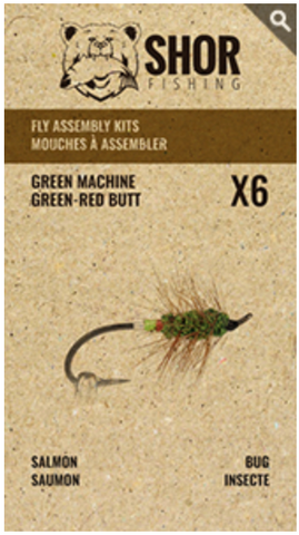MOUCHE À ASSEMBLER (GREEN MACHINE)