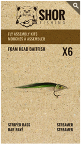 MOUCHE À ASSEMBLER (FOAM HEAD BAITFISH)