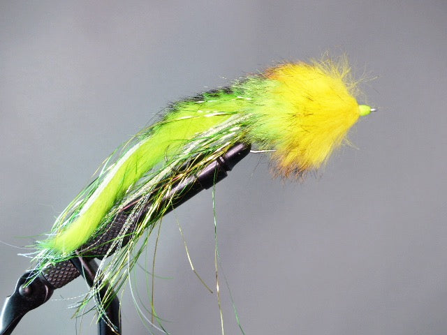 DAVE'S FLATHEAD PIKE BUNNY CHARTREUSE