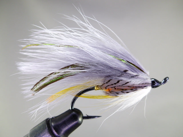 MARABOU GREY GHOST (BLACK SALMON 2/0)