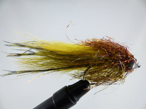 ALTER'S BJ MINNOW OLIVE 1/0