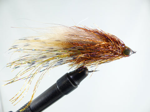 ALTER'S BJ MINNOW BLANC/TAN  1/0