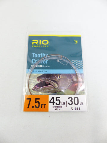RIO TOOTHY CRITTER  45 LBS