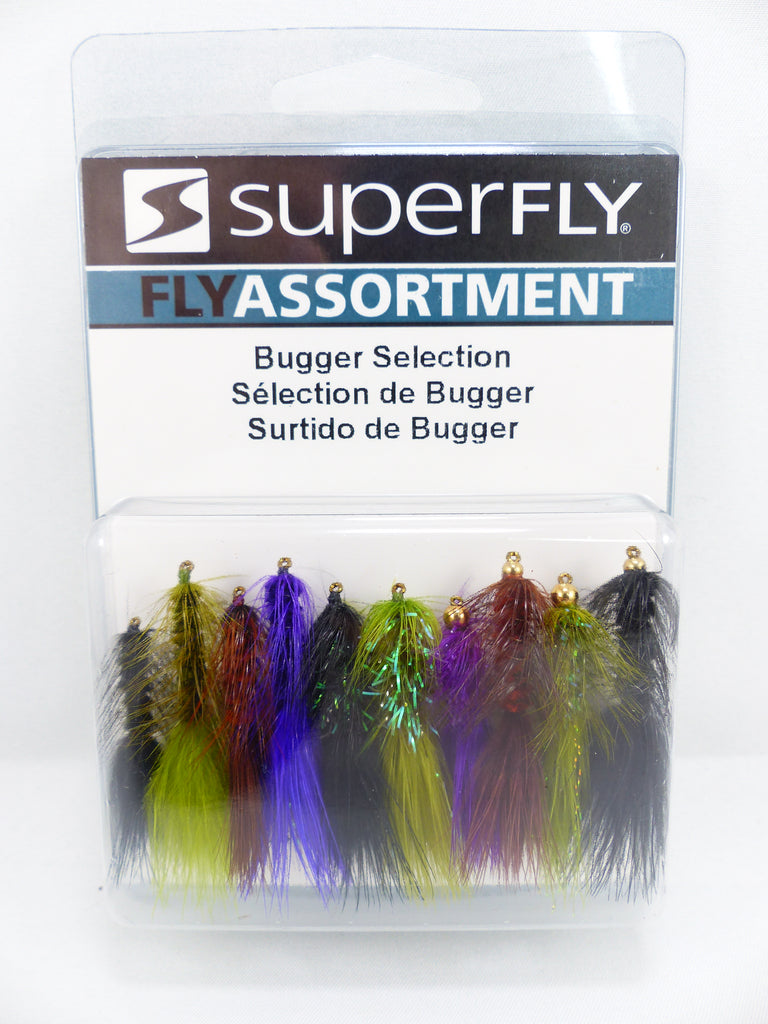 KIT DE MOUCHE WOOLY BUGGER SUPERFLY