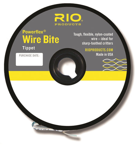 RIO POWERFLEX WIRE BITE 40LBS
