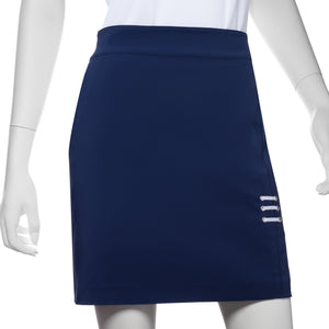 Eyelet Lacing Trim Skort