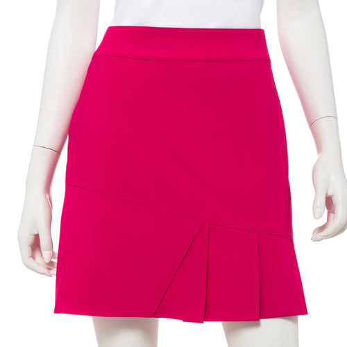 Asymmetric Pleat Hem Detail Skort - EPNY