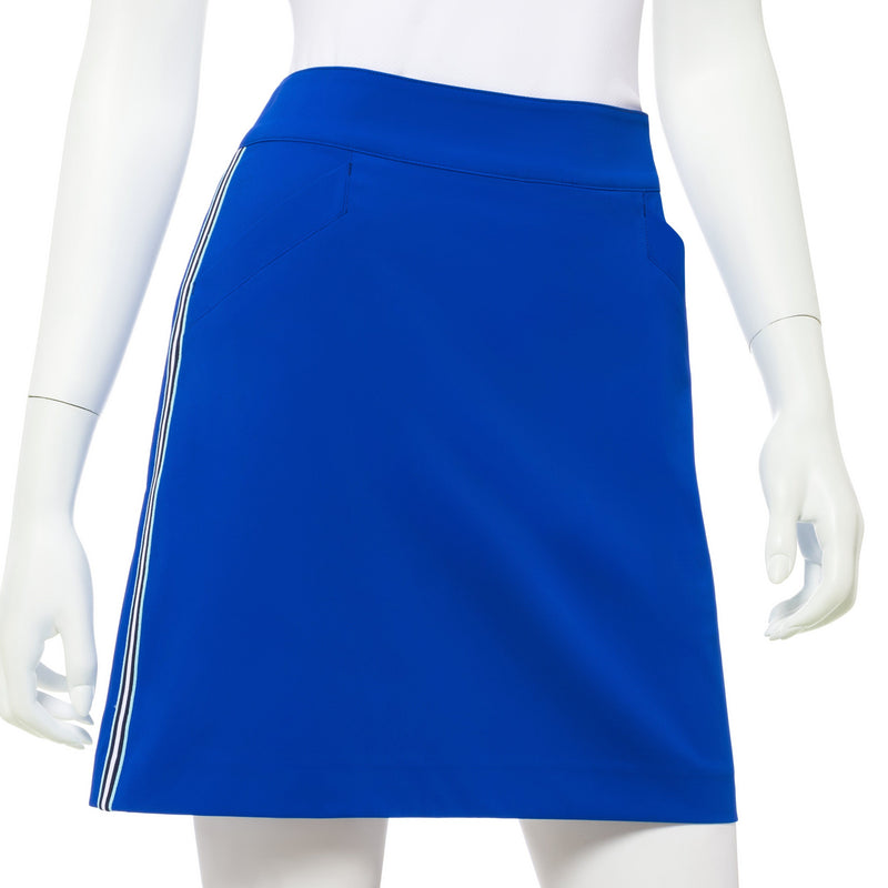 19 INCH TECH STRETCH SKORT W/ TRIM