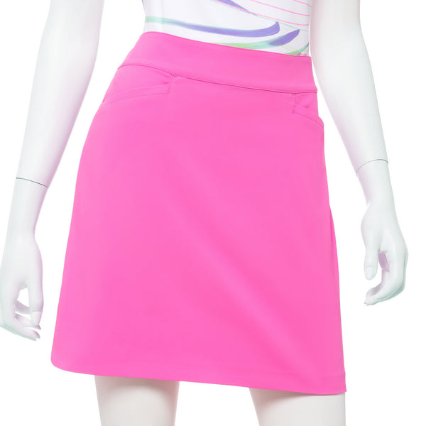 19 Inch Tech Strech Skort w/ Ribbon