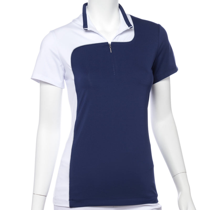 Short Sleeve Color Block Polo - EPNY