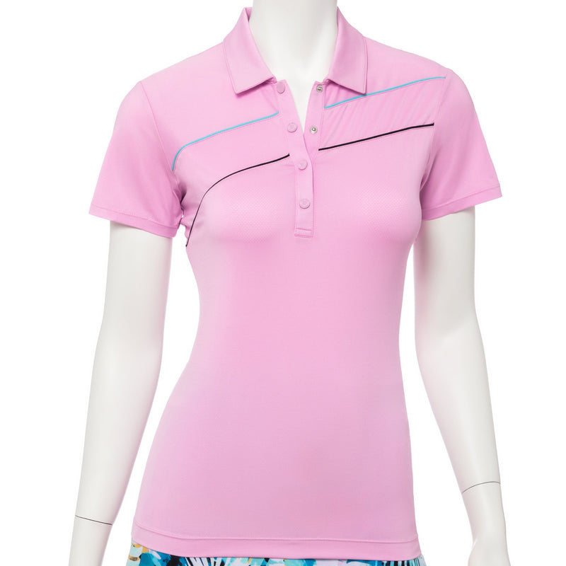 Short Sleeve Placket Curve Polo - EPNY