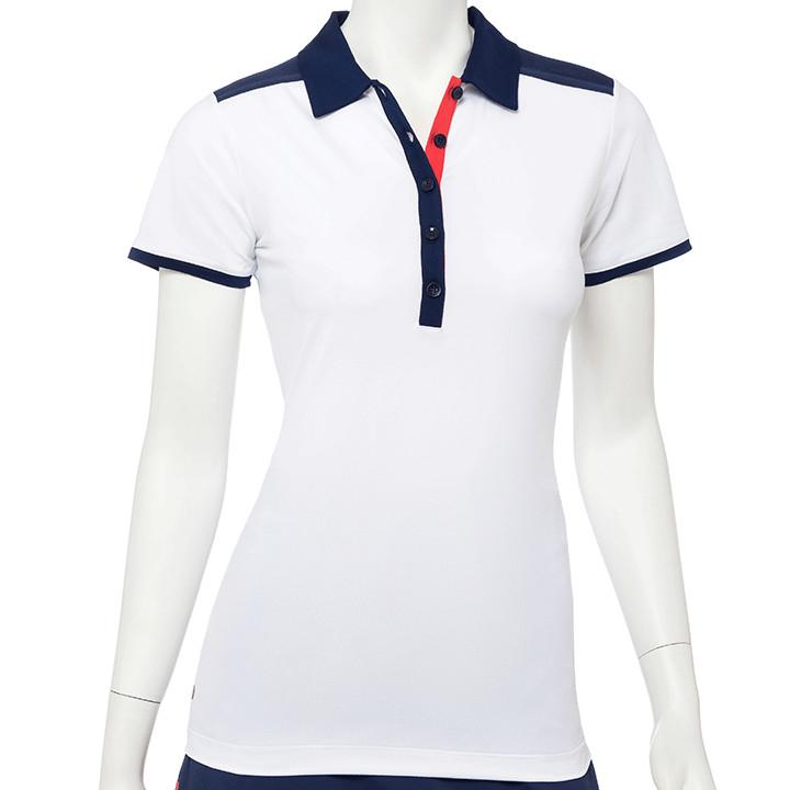 Short Sleeve Multi Tape Trim Polo - EPNY