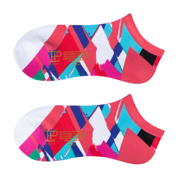 Crosshatch Print Sport Sock - EPNY