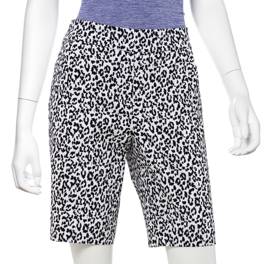 Ikat LeopardPrint Compression Short