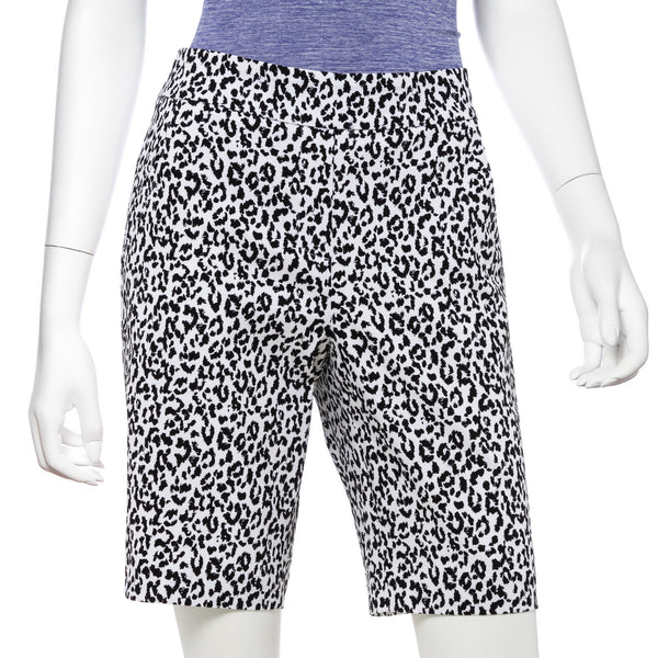 Ikat LeopardPrint Compression Short - EPNY