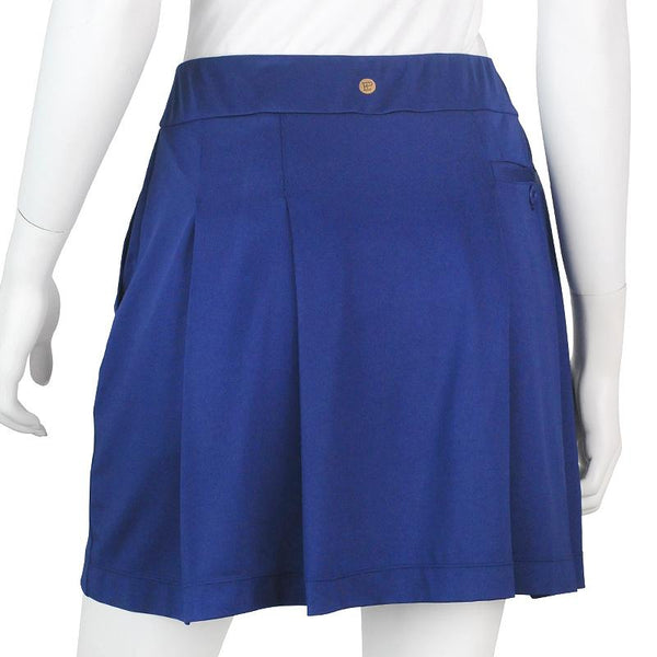 Knit Skort with Back Pleat Detail - EPNY