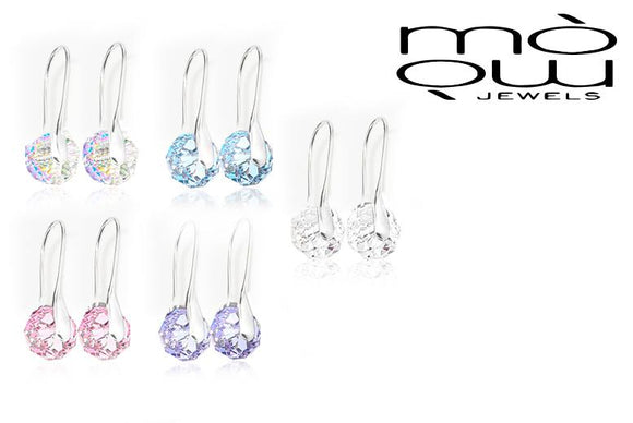 Briolette Earrings with Crystals from Swarovski®