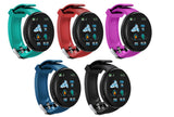 Smart Watch Heart Rate Blood Pressure Health Fitness Tracker Sport Wristband- 5 Colours!
