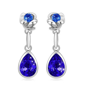 Crystal Lady Jewelry Earings For Women