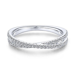 CROSS-OVER ETERNITY RING - 2 Colours!