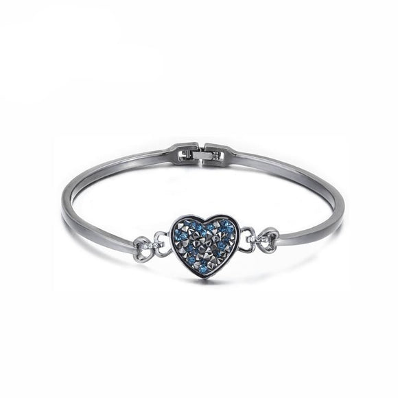 Crystals Swarovski Heart Rate Bracelet