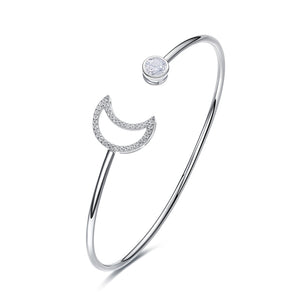 Crystals Swarovski 925 Silver Bangle