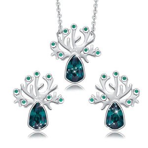 Life Tree Crystal Jewelry Set