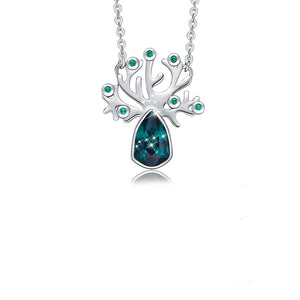 Tree of Life Necklace Crystal From Swarovski