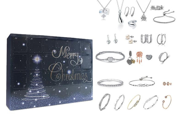 Box Advent Calendar- 24 Pieces of Luxury JEWELLERY!