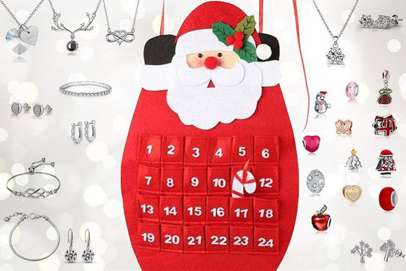 Santa 24-Day Jewellery Advent Calendar!